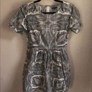Madewell Songbird Dress in Paisley